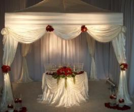 Dramatic Tent Canopy