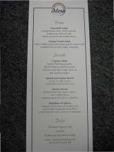 Custom Menu Cards 2