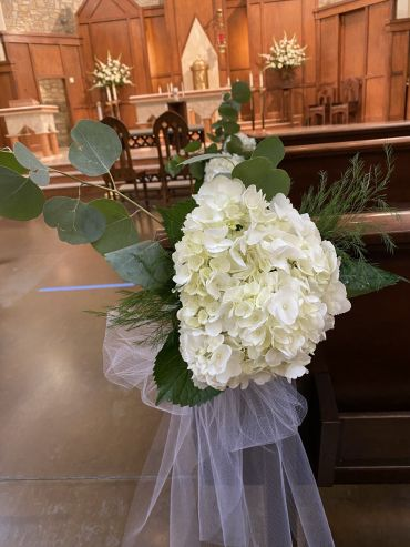 Wedding Ceremony Floral Decor