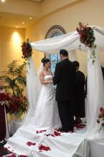White Wedding Canopy - Rental