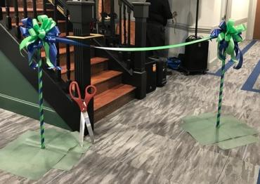 Grand Opening Stanchion w/Ribbon Rental