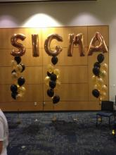 SIGMA Balloon Letters
