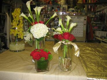 Custom Assorted Centerpieces