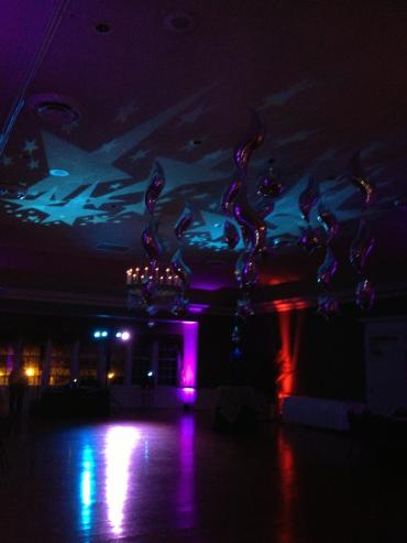 Gobo Lighting and Uplighting