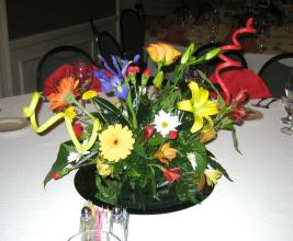 Colorful Party Centerpiece