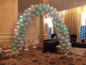 Swirl Arch for Father Daughter Dance at Empire Room