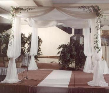 Large White Wedding Canopy