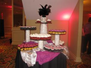 Wedding Cupcake Table Rental