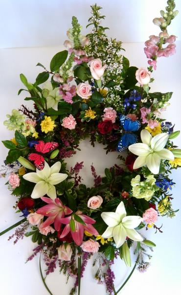 Lily Love Wreath