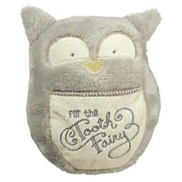 Tooth Fairy Mini Pillow- Gray Owl