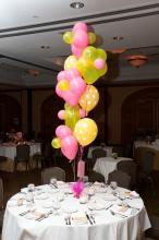 "Geo Blossom Balloon Bouquet w/11"" Latex"