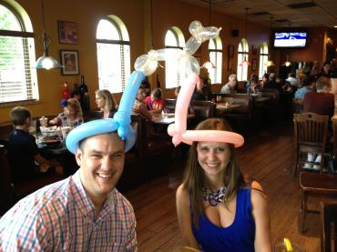 Gender Reveal Balloon Hats