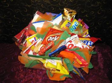 Yummy Snack Goodie Basket