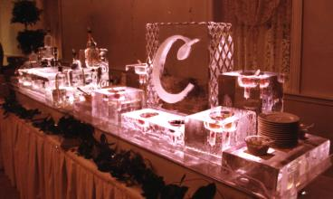 Custom Ice Buffet