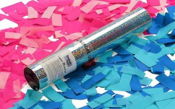 Gender Reveal Confetti Cannon Rental