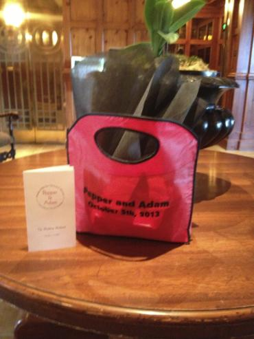 Custom Imprinted Hospitality Bag
