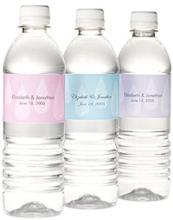 bottle water personalized