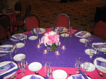 Rose Bud Centerpiece