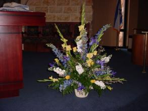 Blossoming Bima/Altar Arrangement