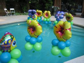 Pool Decor