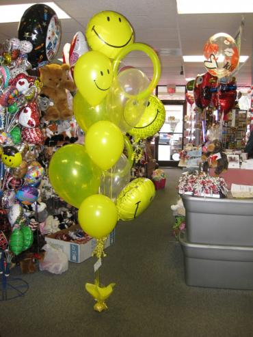 Smile Balloon Bouquet
