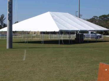 Large Open Tent Rental