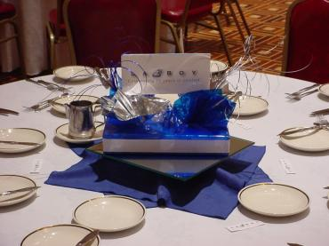 Custom Logo Centerpiece 2
