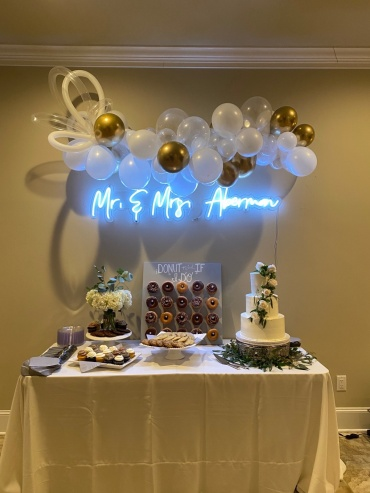 Whimsy Wedding in White & Gold