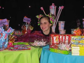 Interactive Candy Table