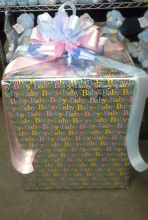 Baby Gender Reveal Box