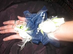 Feather Corsage