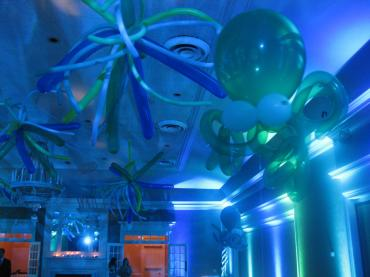 Under the Sea Lighting and Octopus Balloons