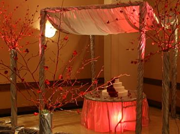 Golden Wedding Canopy- Rental