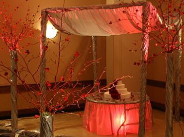 Golden Wedding Canopy Rental Nc Florist Same Day