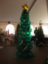 Balloon Sculpture - Christmas Tree