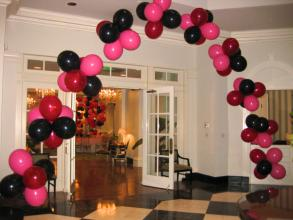Ballroom Floating Cluster Arch