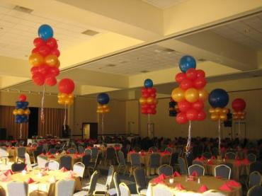 Room of Balloon Clusters