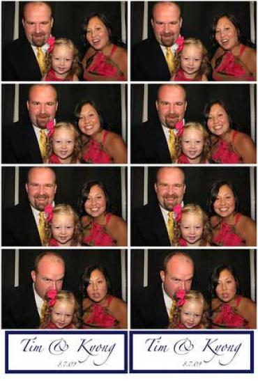 Photo Booth Picture Strip