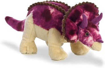 Purple Triceratops
