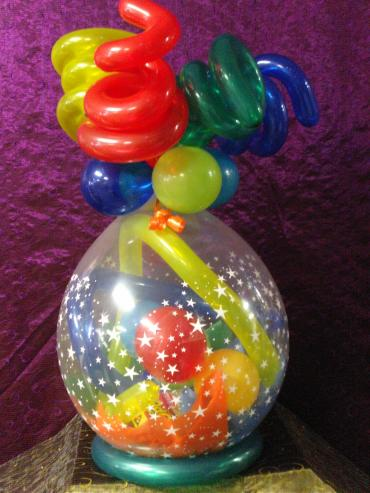 Rainbow Balloon Wrap