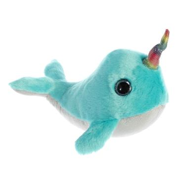 Sparkling Coral Narwhal (Blue)