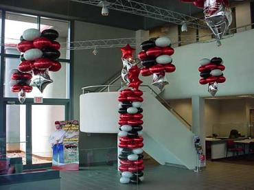 Toyota Balloon Columns and Floating Clusters