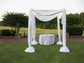 Simple Wedding Canopy - Rental