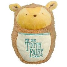 Tooth Fairy Mini Pillow- Tan Hedgehog