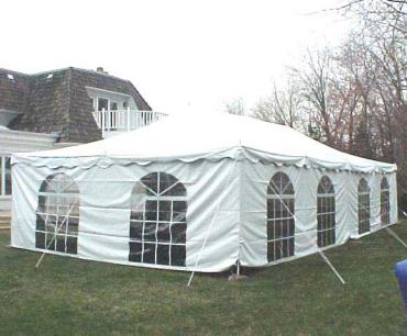 Tent With Sides Remntal