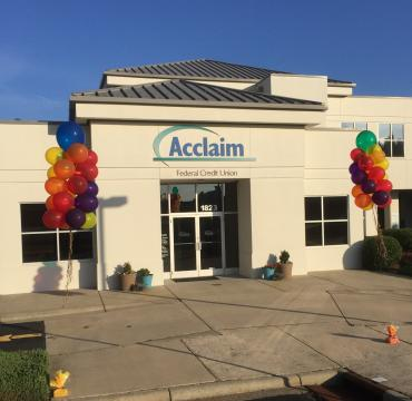 Floating Columns at Acclaim Federal Credit Union