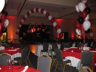 Baseball Bar Mitzvah - Balloon Decor