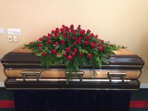 Full Rose Casket Spray