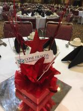Corpoate Event Logo Centerpiece